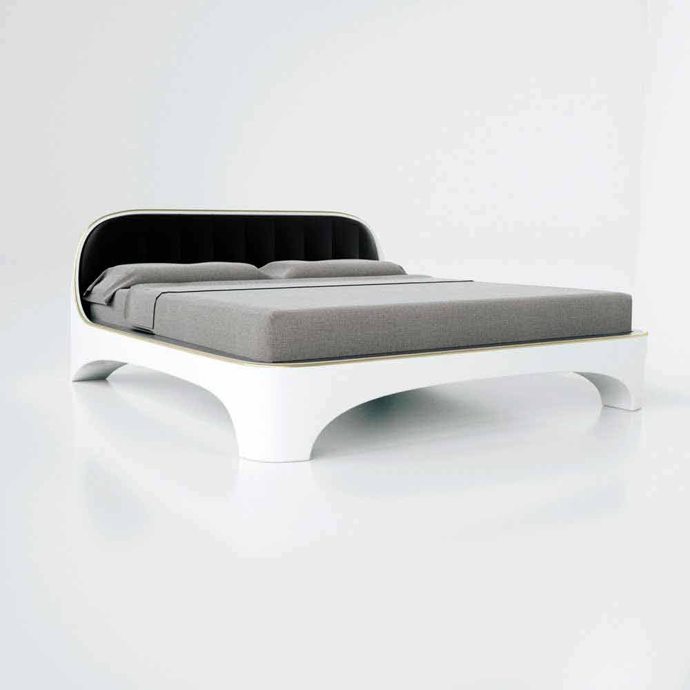 Letto matrimoniale luxury design moderno elegance made in for Design moderno