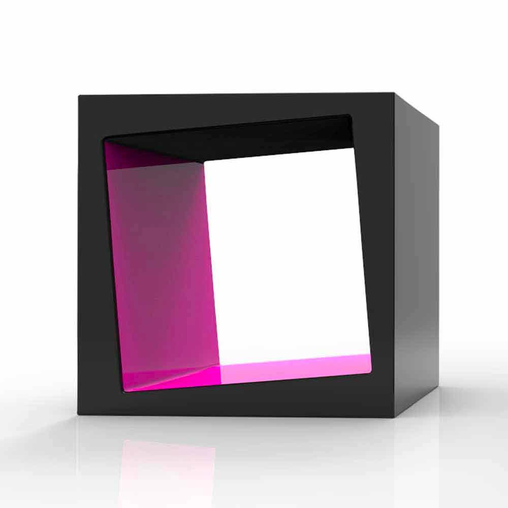 Mensola cubo contenitore dado: mensola design moderno kubo ...