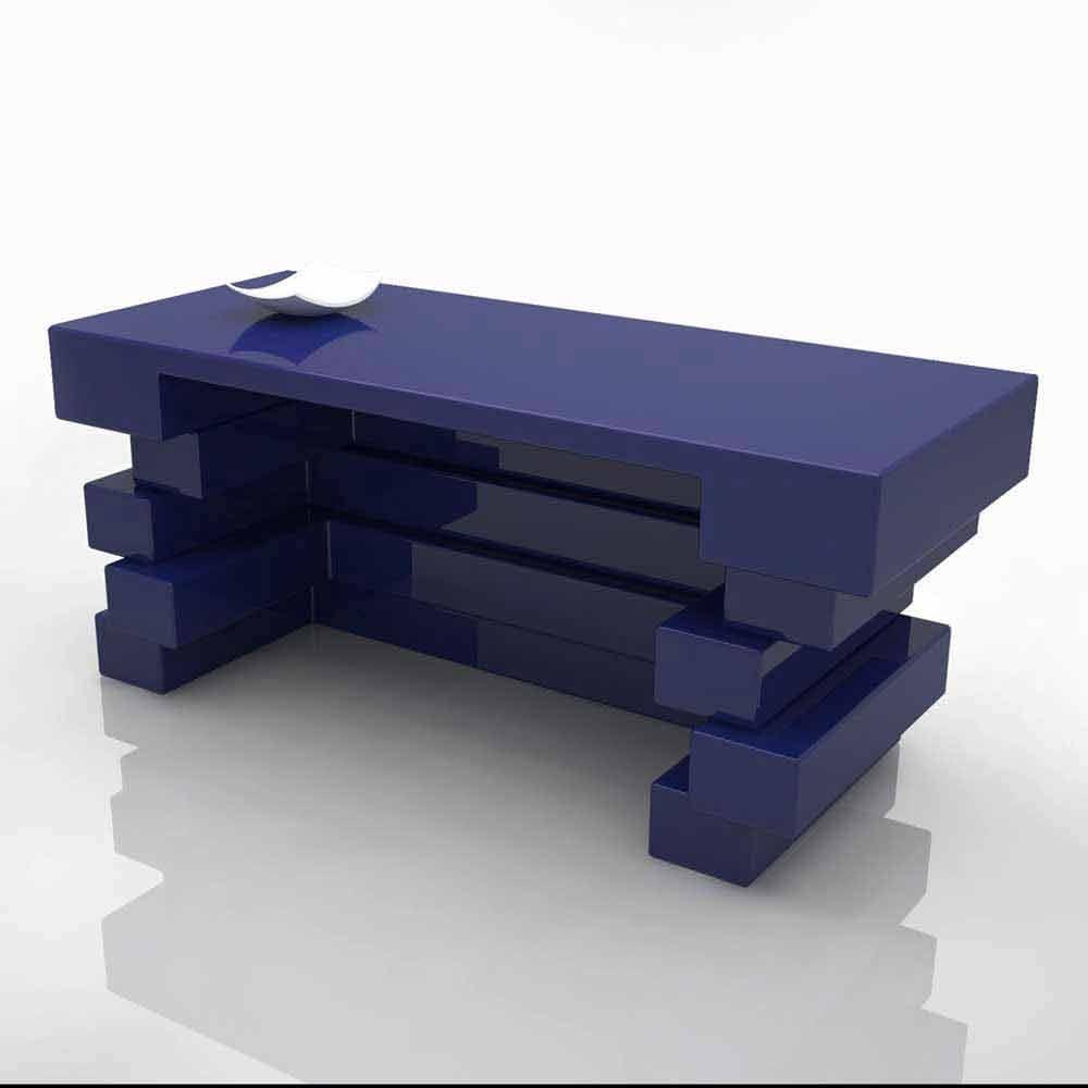 Scrivania da ufficio moderna realizzata artigianalmente alford for Design ufficio scrivania
