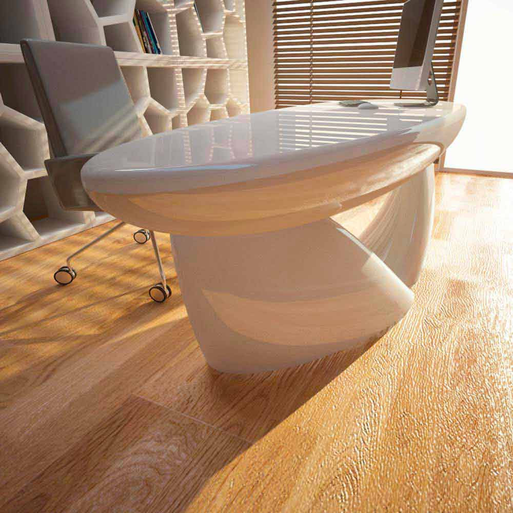 Scrivania per ufficio design moderno sofstone fatta a mano - Scrivania design moderno ...