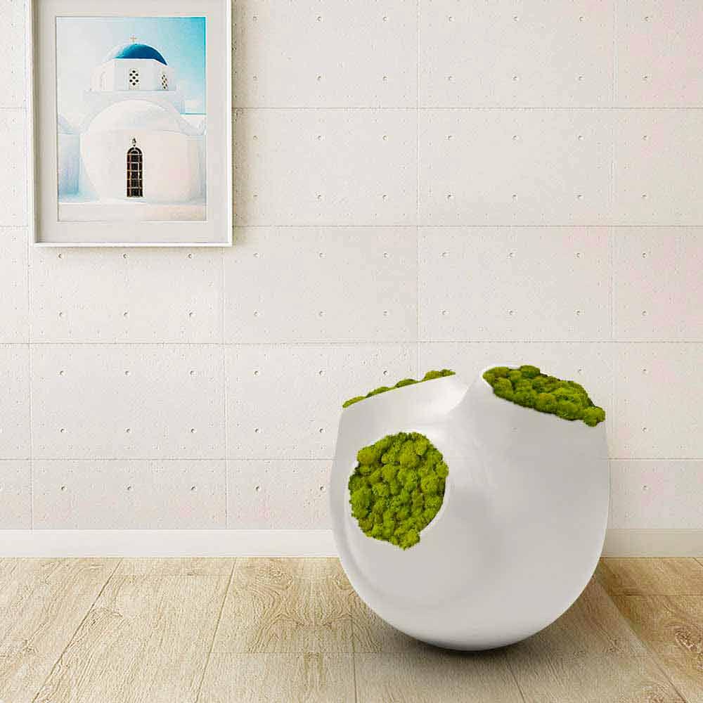 Vaso decorativo design luna made in italy - Soprammobili design ...