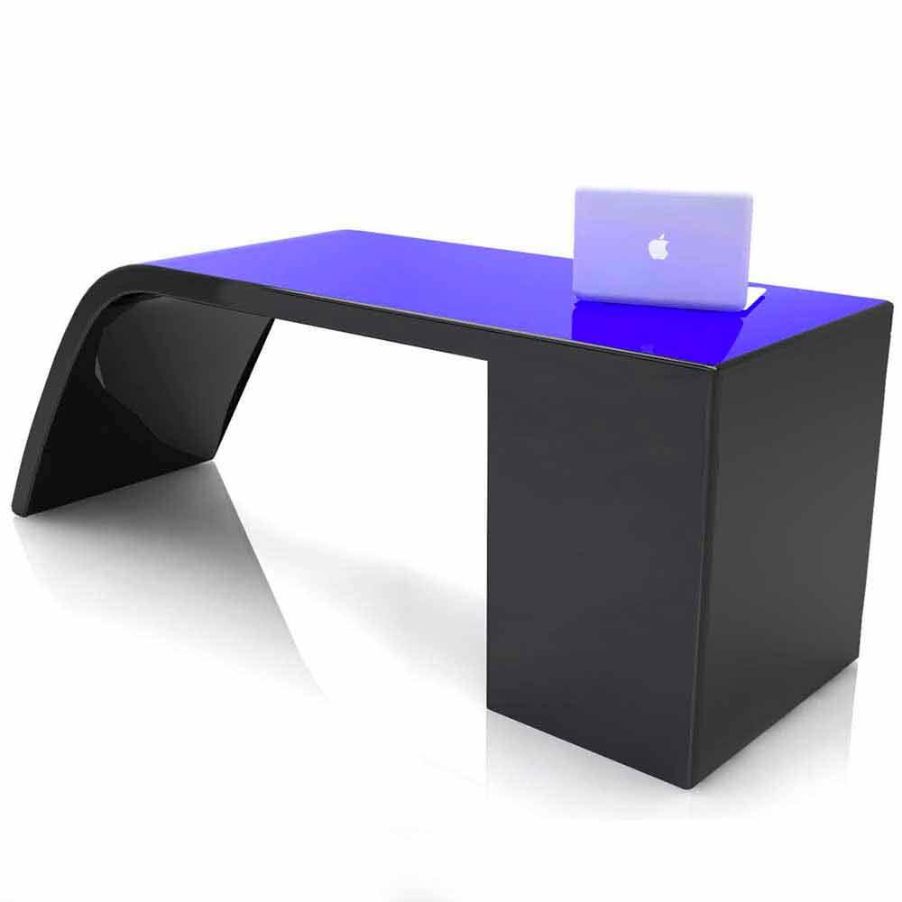 Scrivania da ufficio design moderno anthony 100 made in italy for Design ufficio scrivania