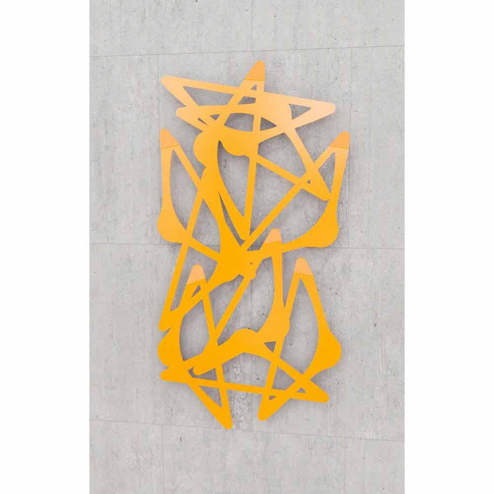 sculture di design da parete resina nera : Appendiabiti da muro di design BlaBla Verticale by Mabele,made in ...