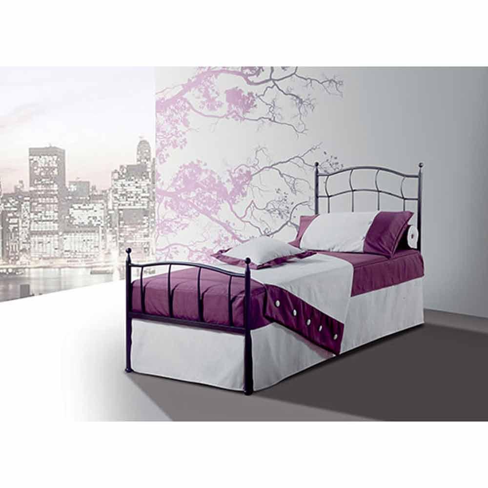 Letto ferro ikea letto in ferro battuto bianco mondo for Ikea letti singoli con secondo letto