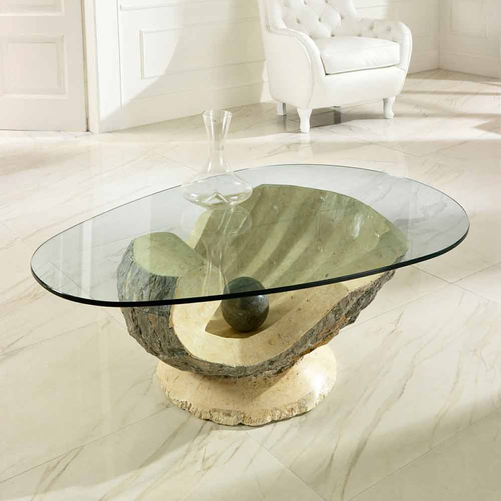 Tavolino da salotto ombra design moderno for Table de salon plexiglass