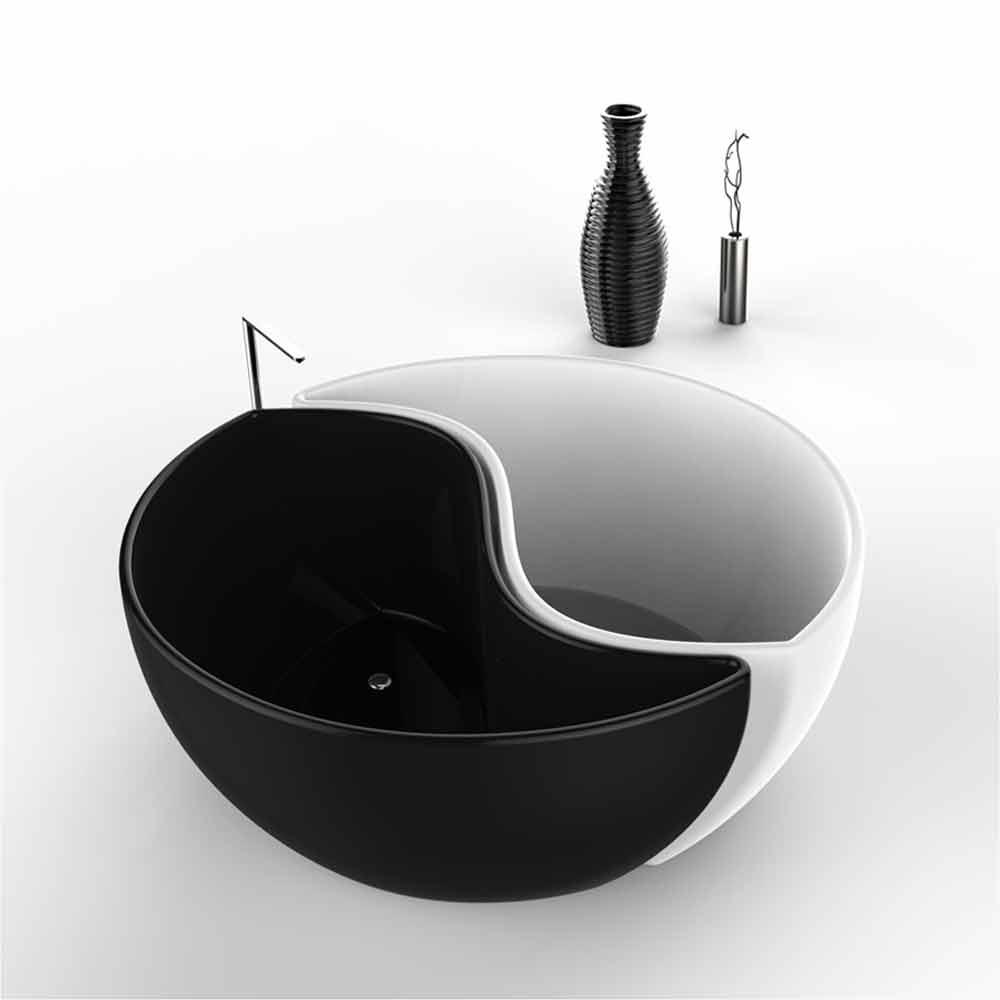 Vasca arredo bagno inadamantx bath tao made in italy for Arredo bagno vasca
