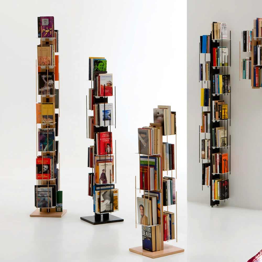 Libreria design moderno a colonna modello zia veronica for Libreria design