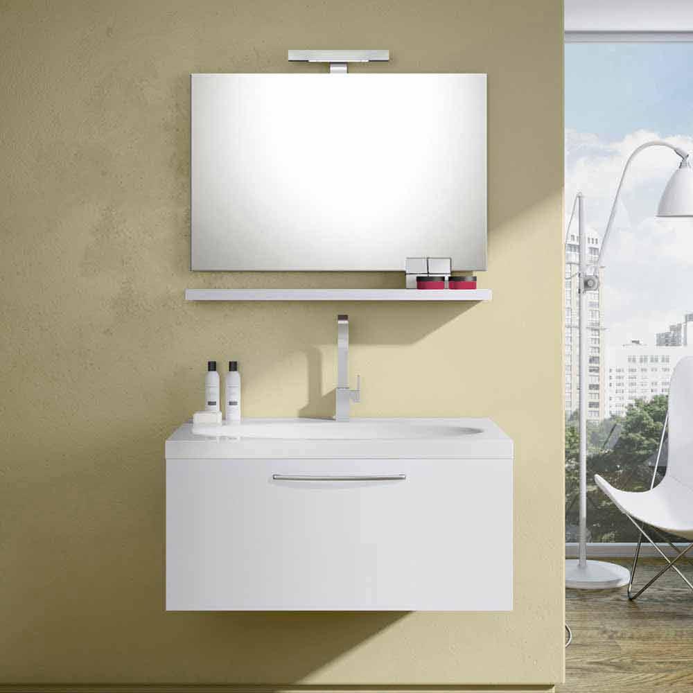 Composizione da bagno sospesa togo marmo composizioni - Composizione bagno ...