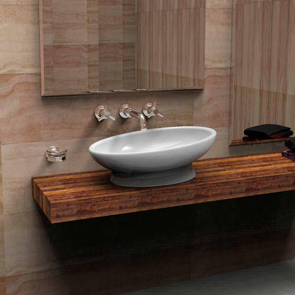 lavabo da appoggio moderno egg prodotto artigianle italiano. Black Bedroom Furniture Sets. Home Design Ideas