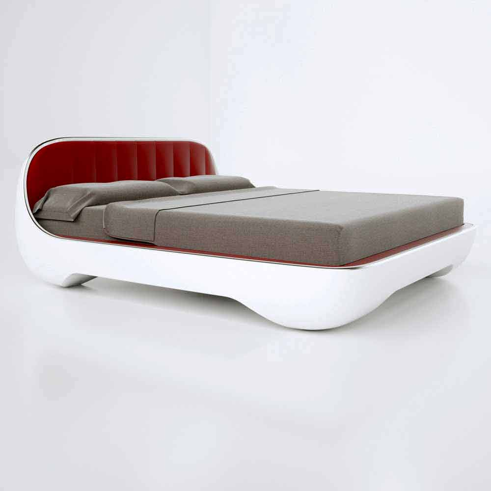 letto matrimoniale luxury design moderno avantgarde made
