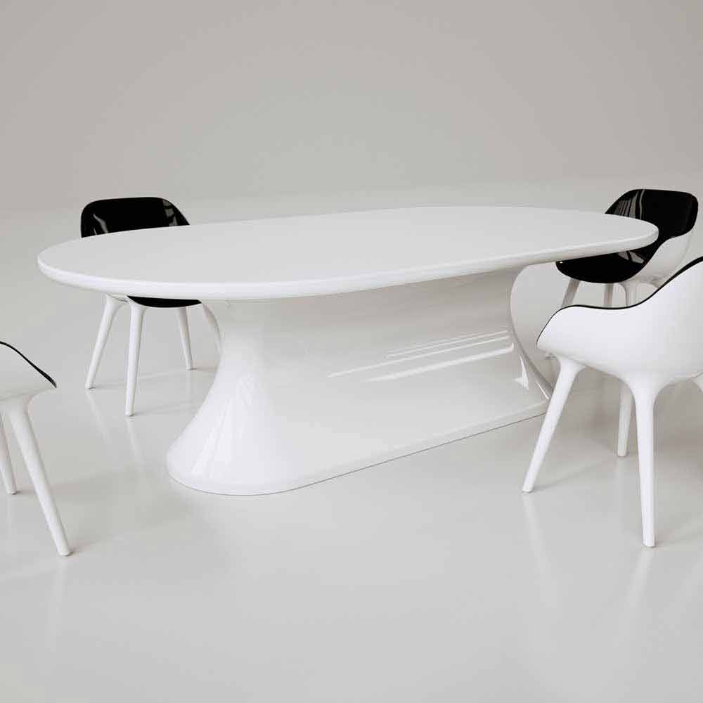 Tavolo design moderno confortable made in italy - Tavolo design moderno ...