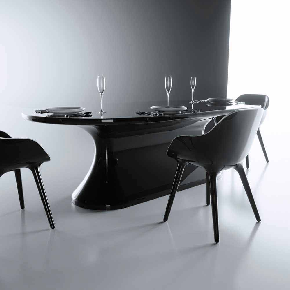 tavolo design moderno confortable made in italy by zad italy, su ... - Tavolo Design Moderno