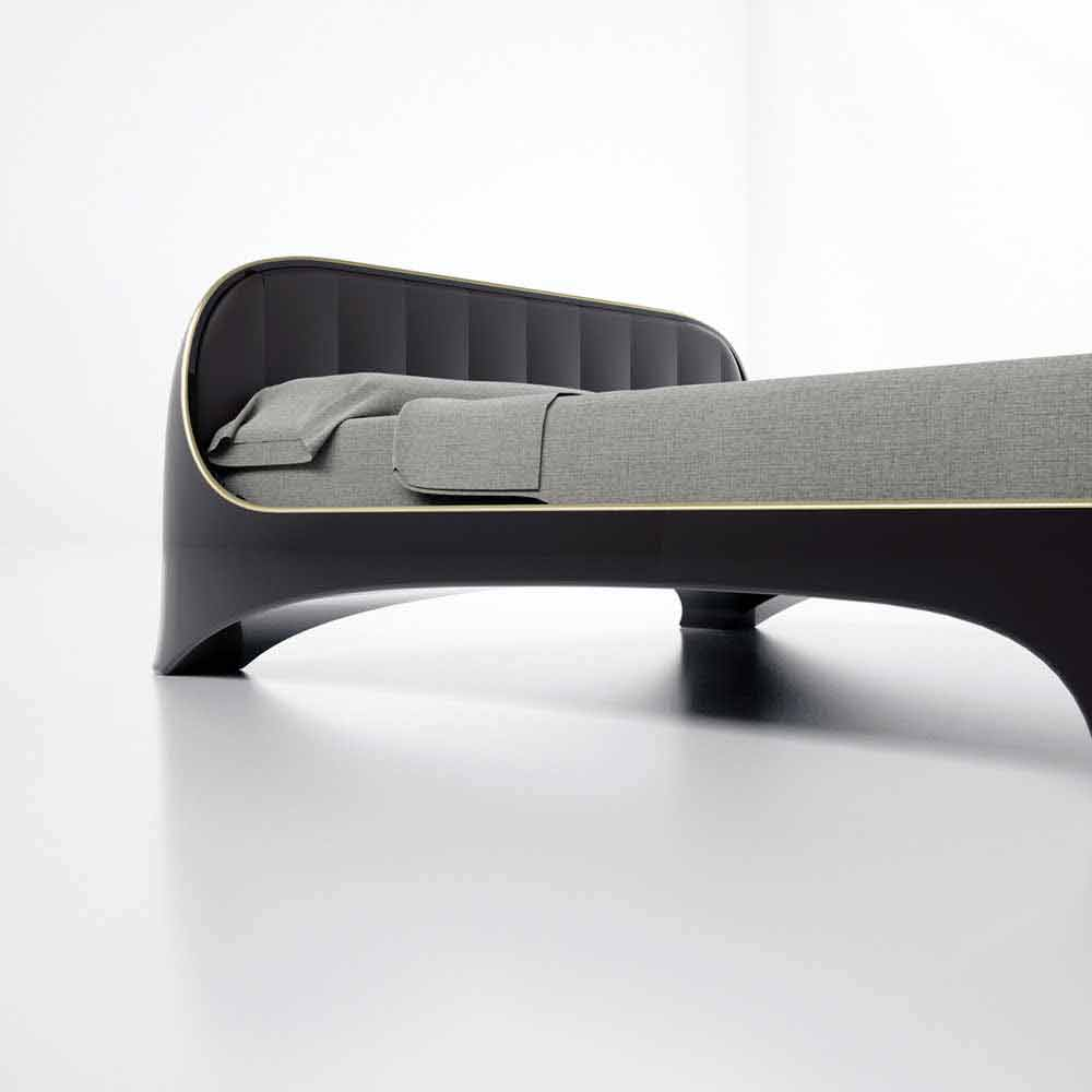 Letto matrimoniale luxury design moderno elegance made in for Letto a soffitto matrimoniale design