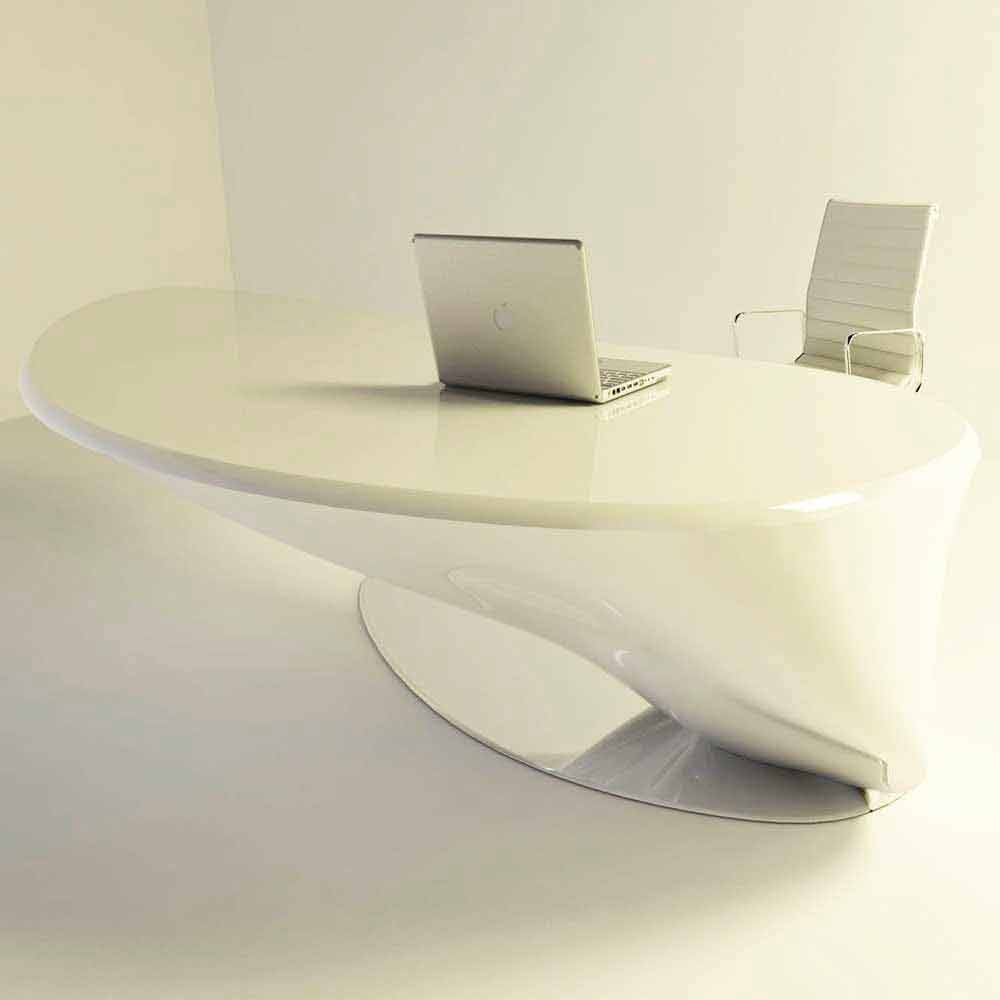 Scrivania moderna da ufficio design italiano atkinson for Accessori design ufficio