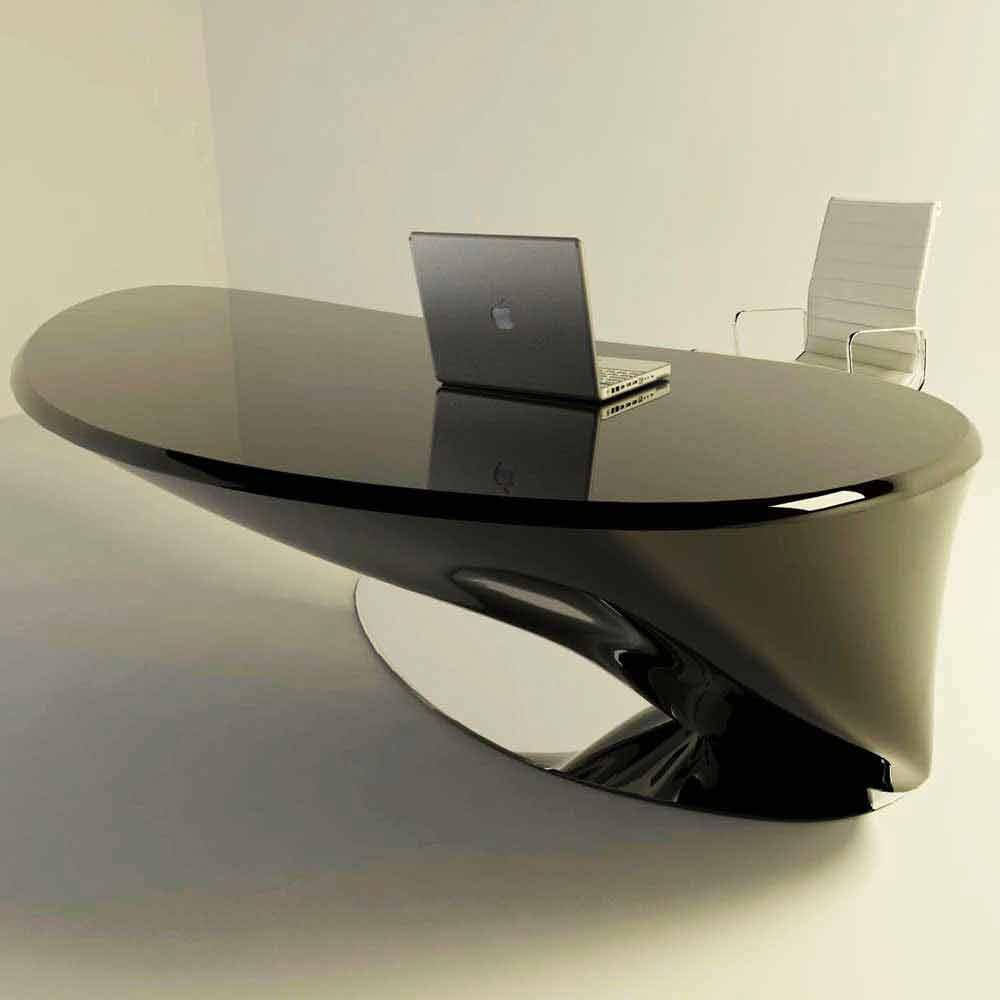 Scrivania moderna da ufficio design italiano atkinson for Scrivania design