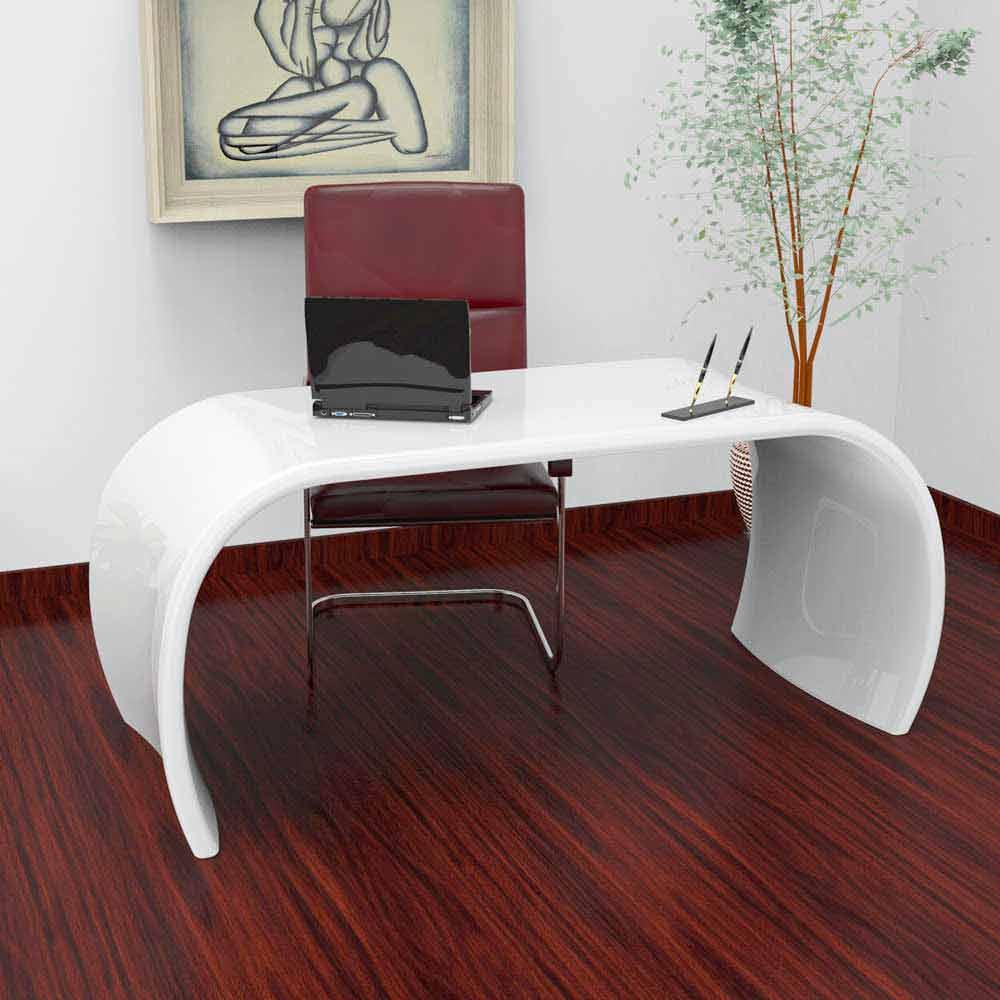 Scrivania da ufficio design moderno fatta in italia ola for Design ufficio scrivania