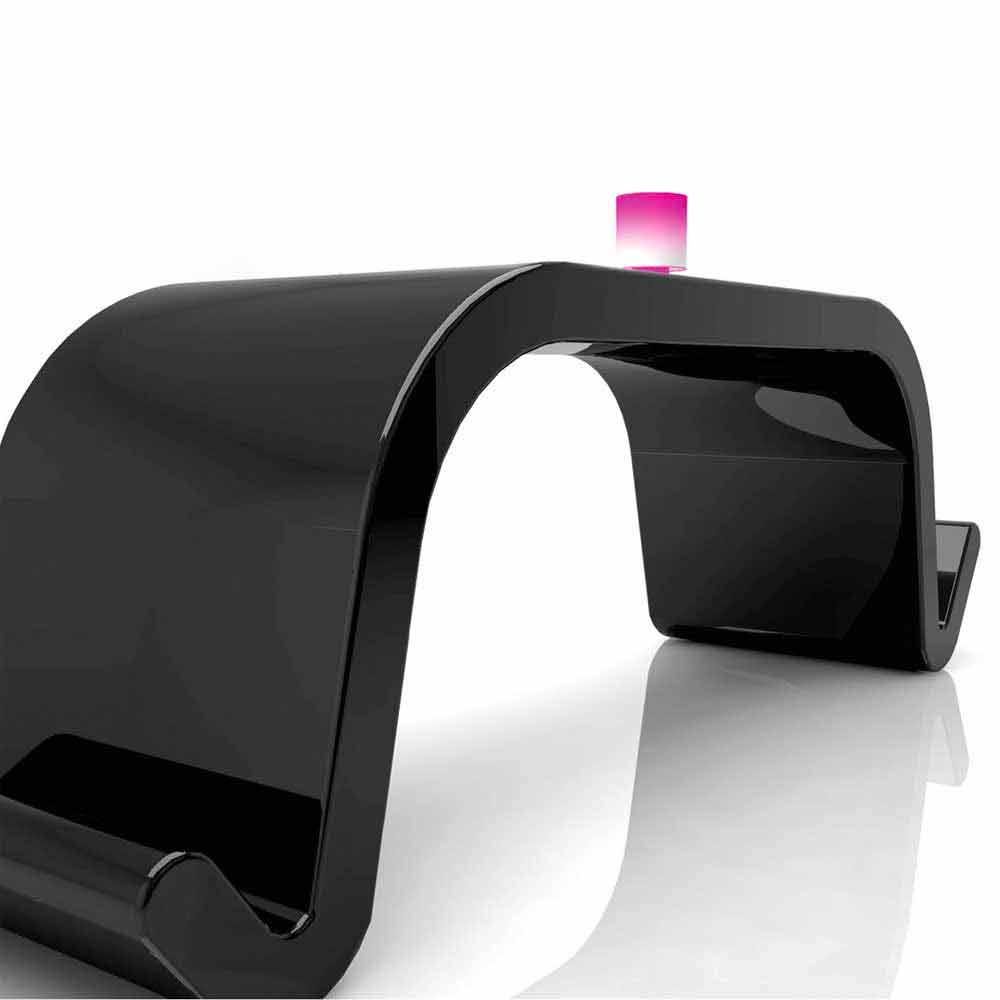 Scrivania da ufficio design moderno acton bianco nero o oro for Accessori da ufficio design
