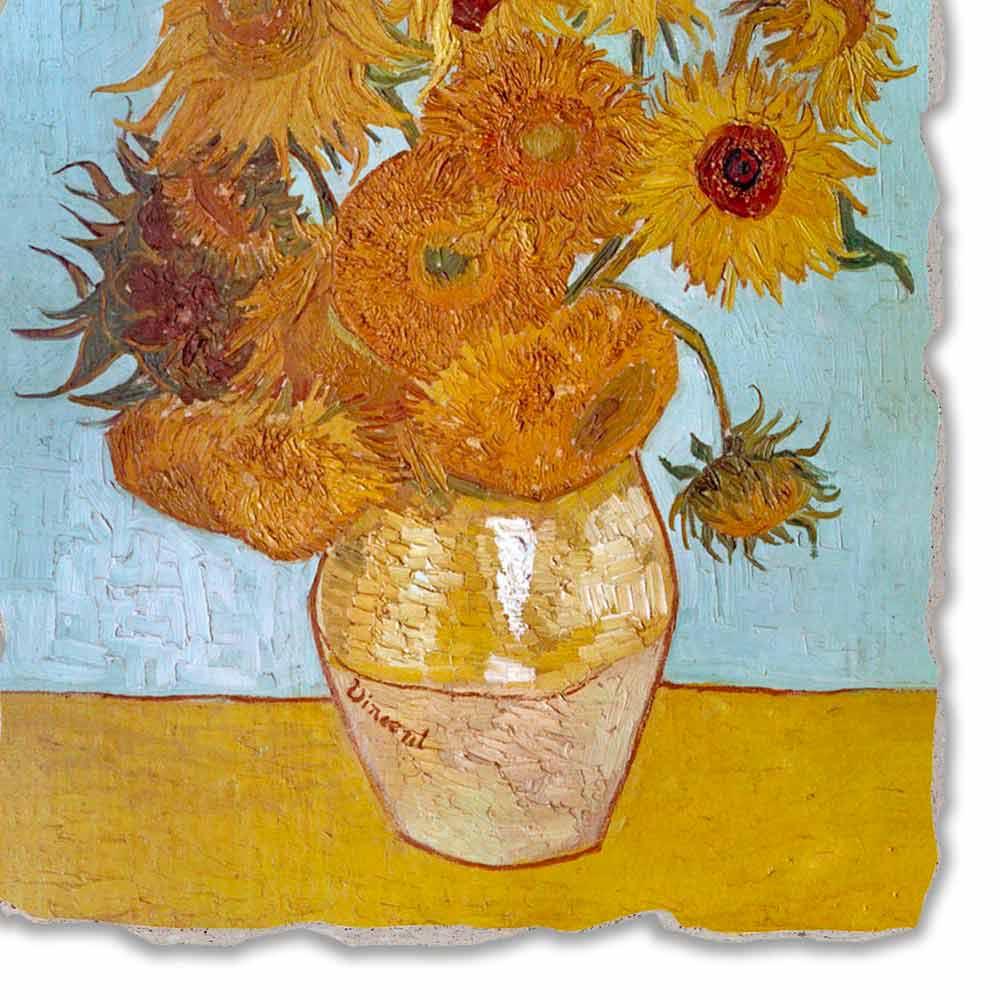 Affresco grande fatto a mano vincent van gogh vaso di for Disegni da colorare di van gogh