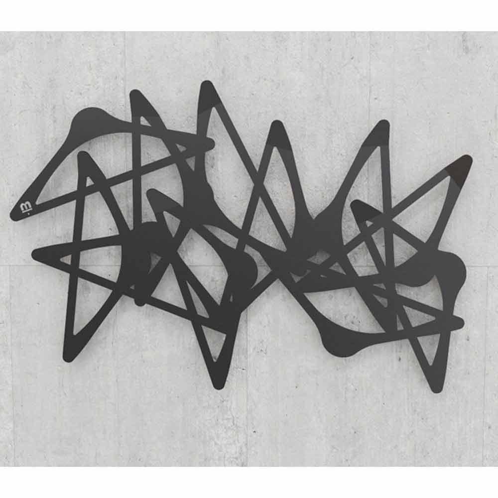 Appendiabiti da parete moderno blabla orizzontale by mabele for Appendiabiti parete
