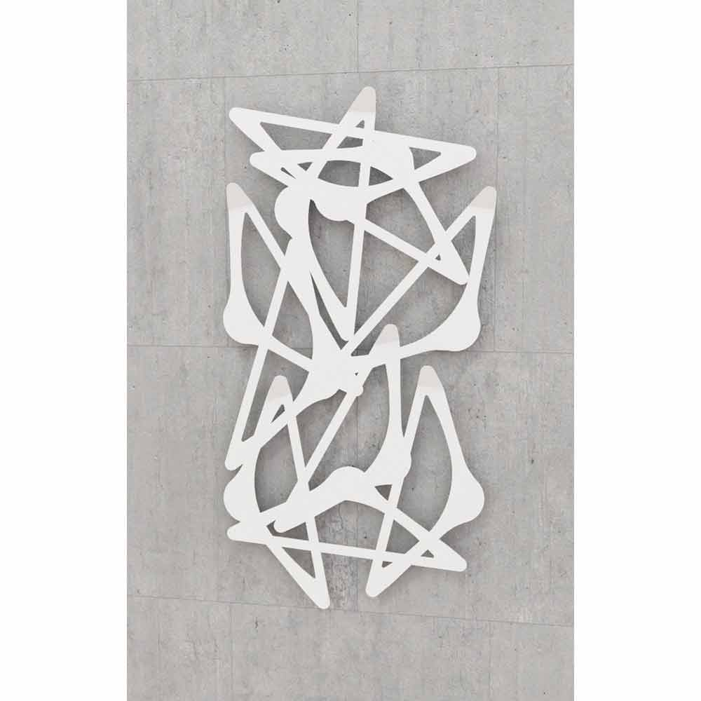 Appendiabiti da muro di design blabla verticale by mabele for Appendiabiti parete
