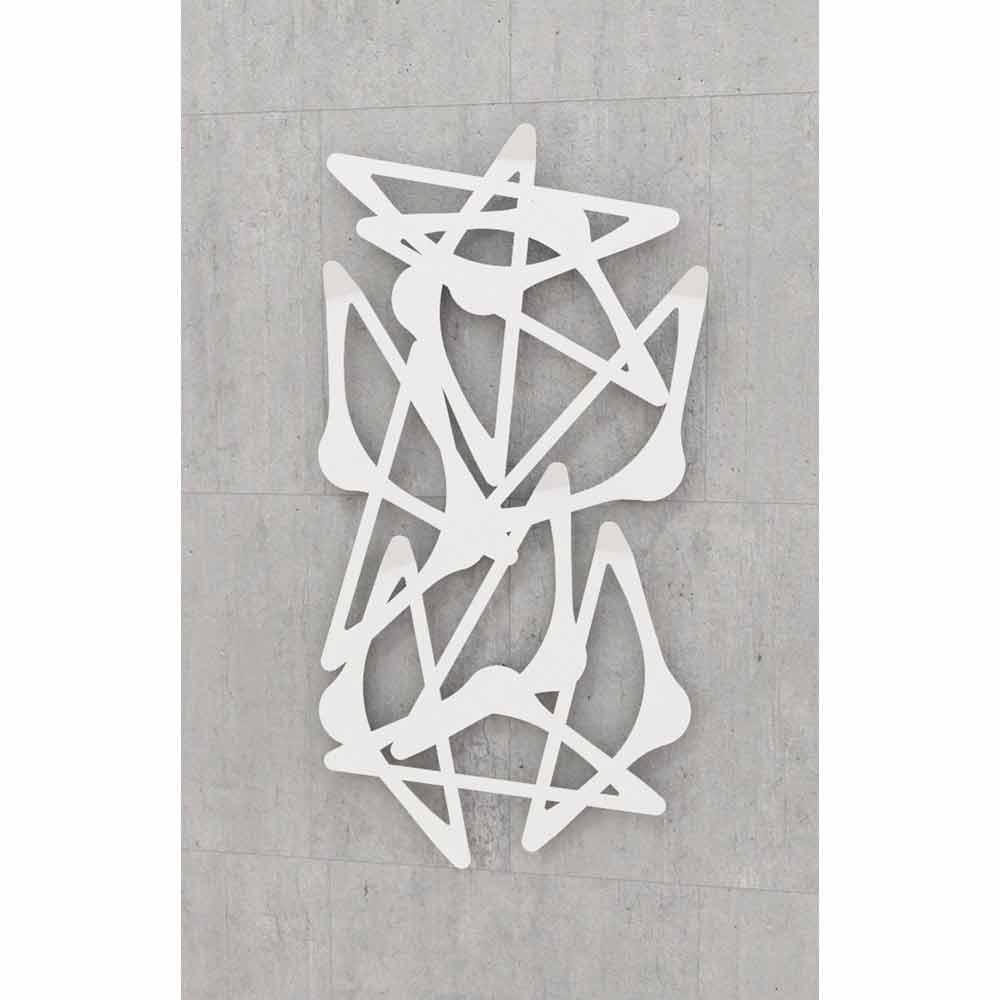 Appendiabiti da muro di design blabla verticale by mabele - Appendiabiti a parete moderni ...