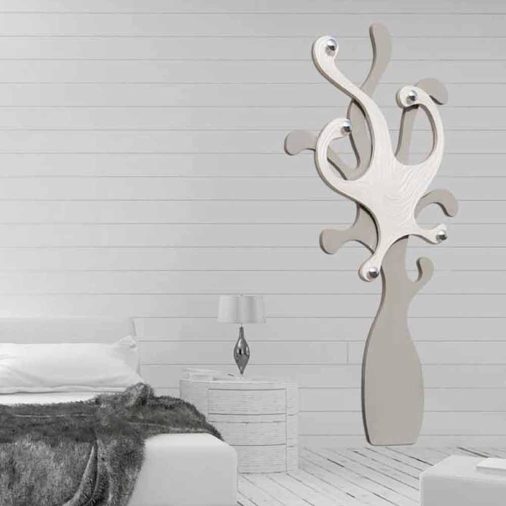 Appendiabiti da parete di design con effetto madreperla corey for Appendiabiti parete