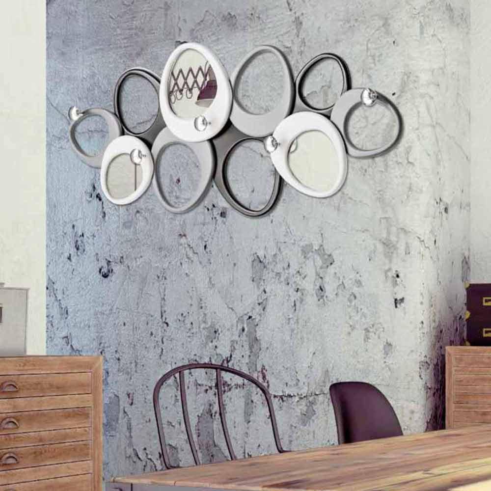 Appendiabiti Da Parete Di Design Molecole By Viadurini Decor