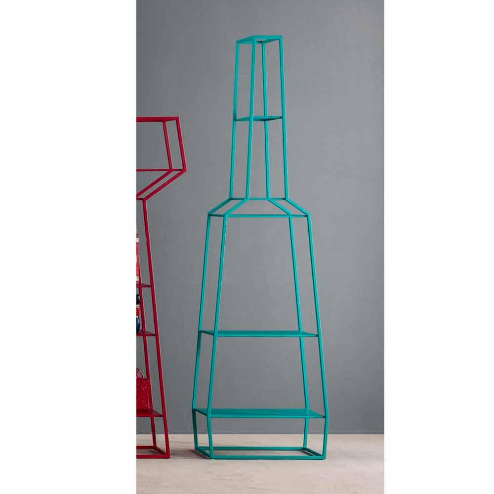 Bonaldo April libreria di design metallo colorato 210x60cm made Italy
