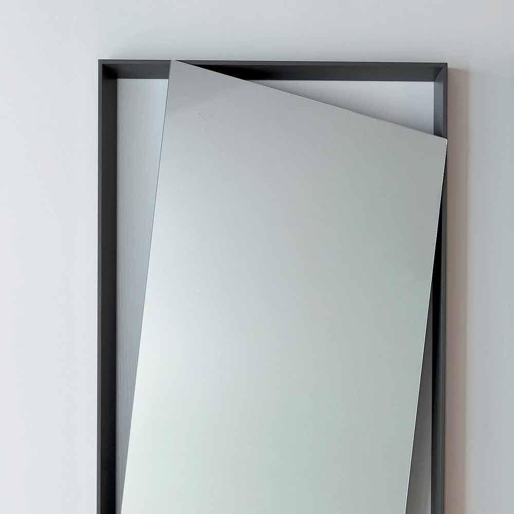Bonaldo hang specchio parete di design legno laccato - Specchio di design ...