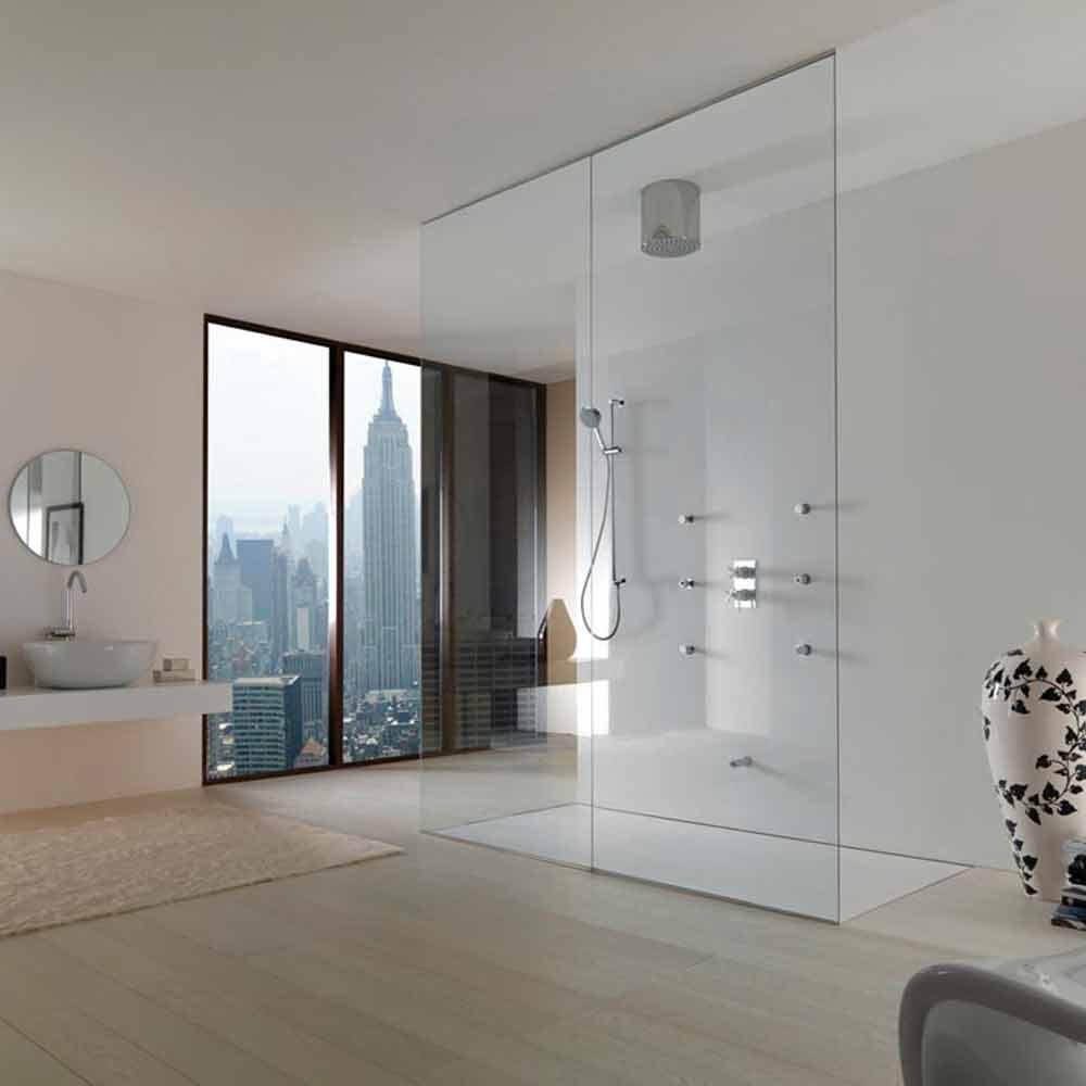 Bossini oki 200 soffione doccia dal design moderno a un getto - Doccia design moderno ...