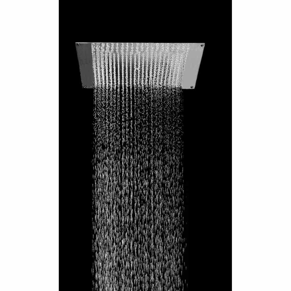Bossini soffione doccia ultrapiatto 570x470mm - Soffione doccia da incasso ...