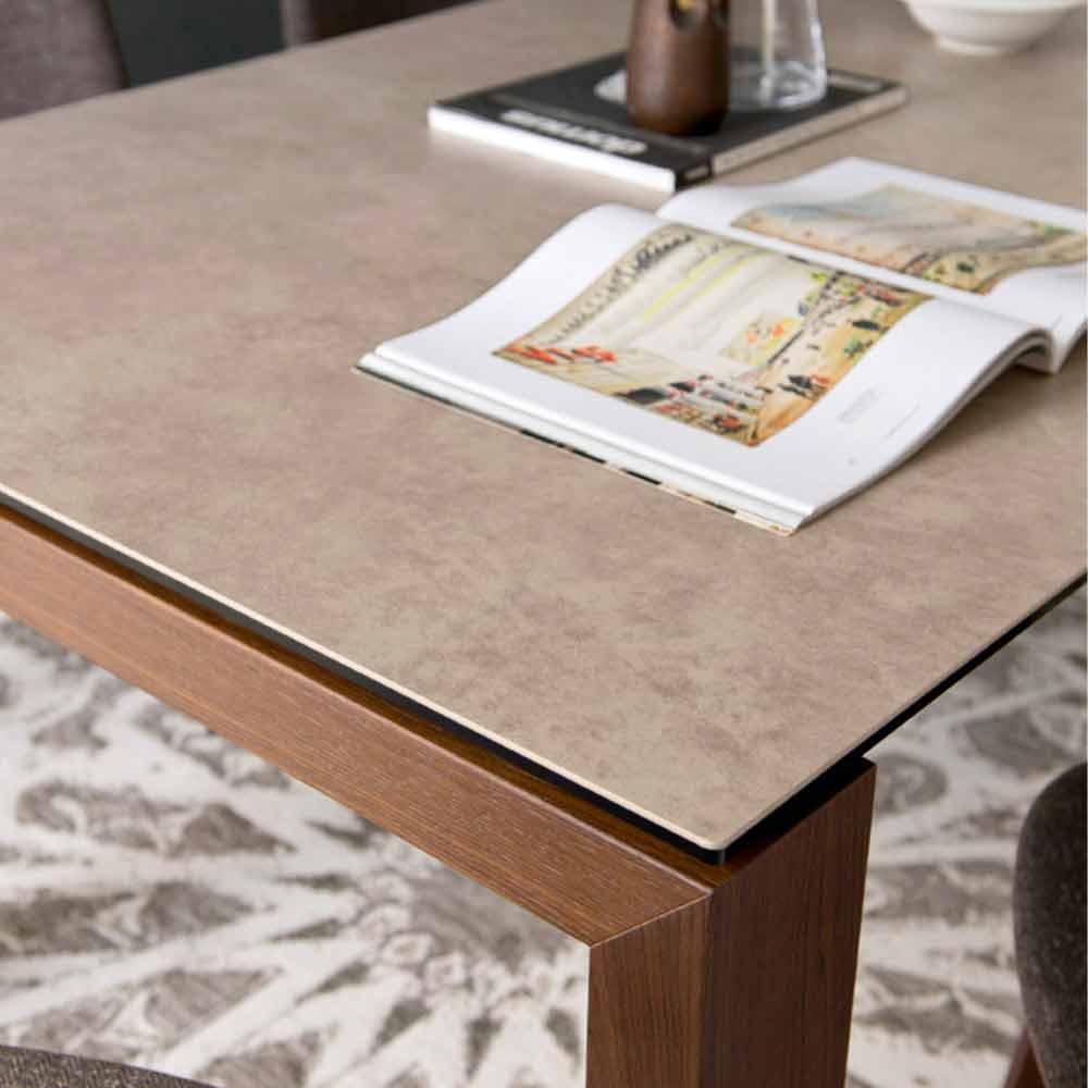 Calligaris sigma tavolo moderno allungabile fino a 220 cm for Calligaris tavoli allungabili legno