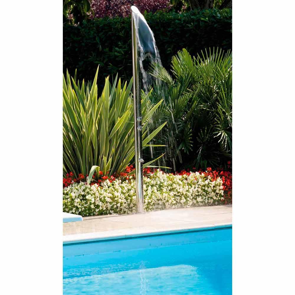 Bossini colonna doccia per esterno stile moderno acquabamb - Doccia per esterno ...