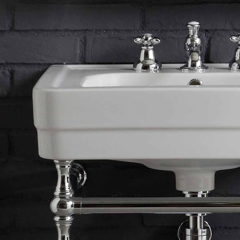 Composizione arredo bagno con lavabo su struttura for Arredo bagno lavabo