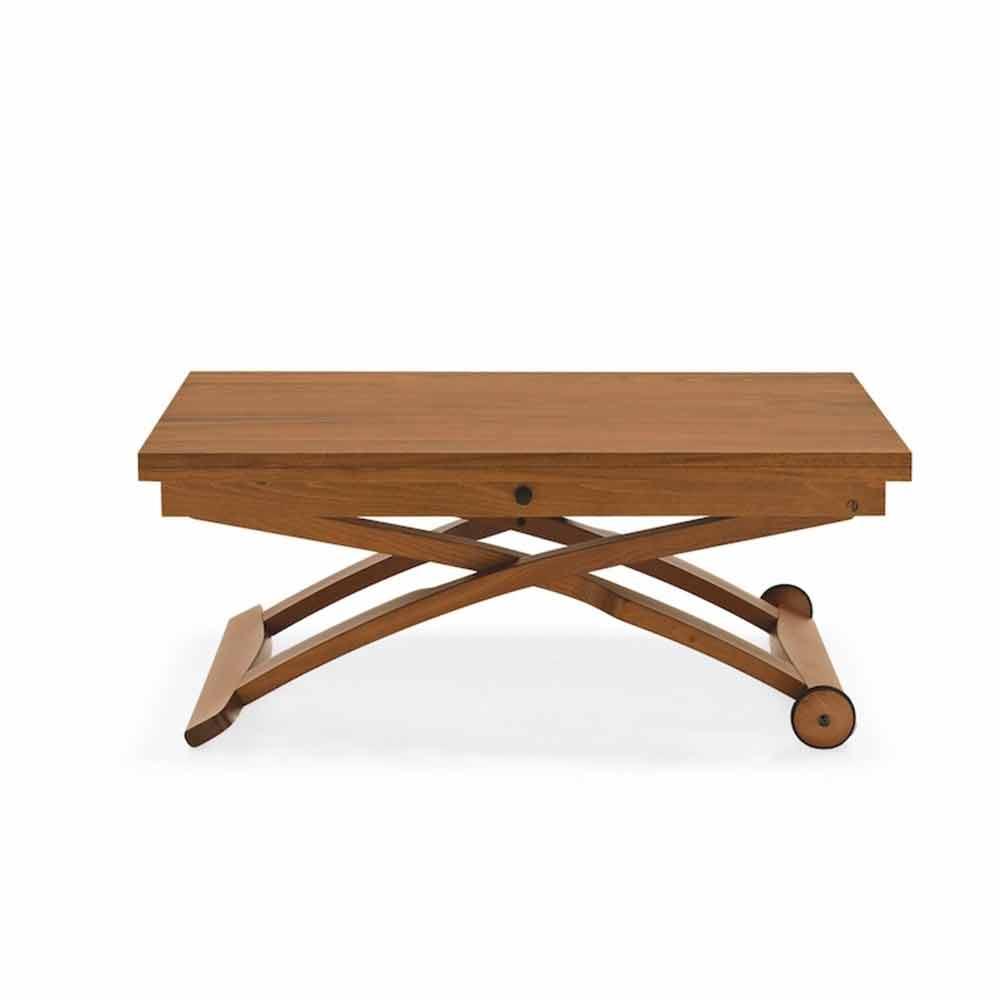 Connubia calligaris mascotte tavolino in legno regolabile in altezza - Tavoli regolabili in altezza prezzi ...