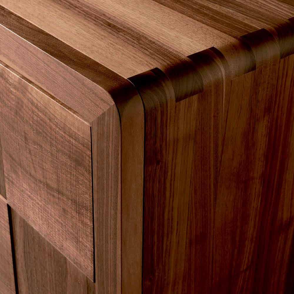 Credenza con 3 ante in legno massello design moderno Nensi