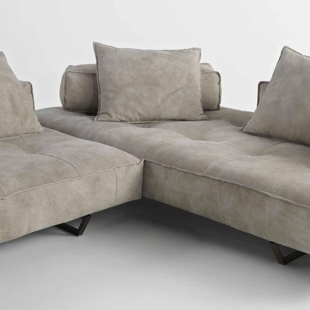 Divani colorati componibili divano componibile cheslongue divani componibili stile anni - Rivestimento divano ikea ...