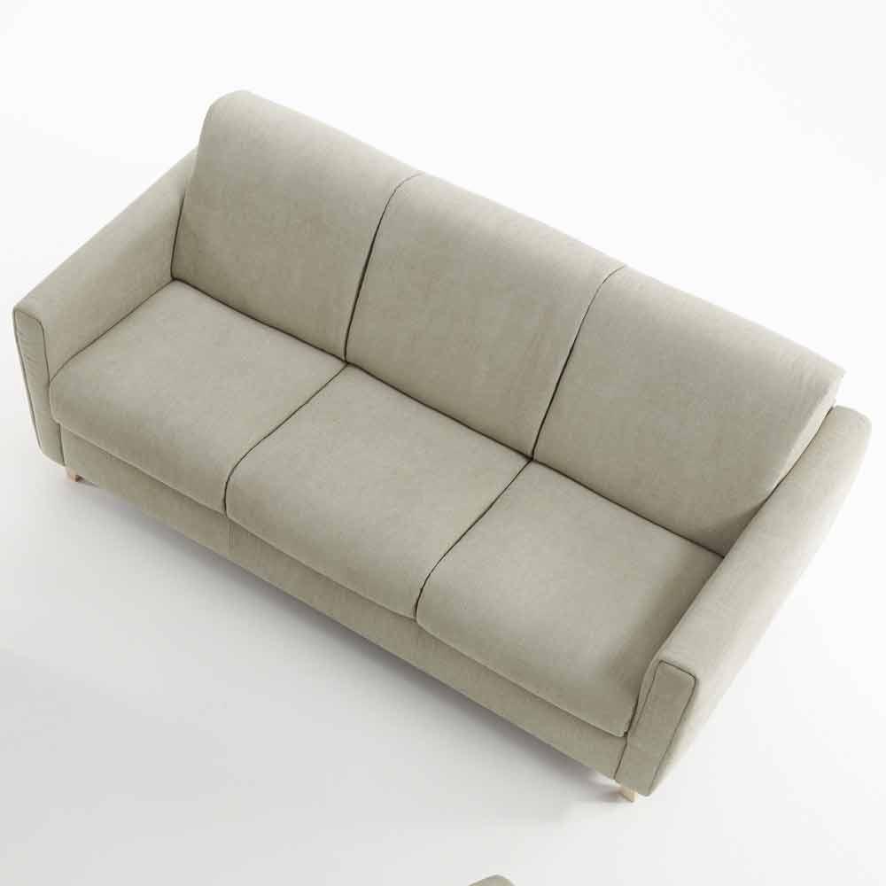 Divano letto di moderno design in tessuto prodotto in for Letto design moderno