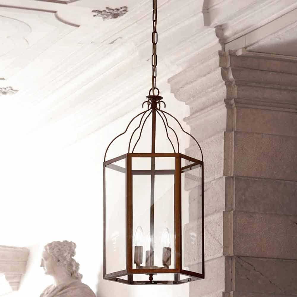 Lampada Vetro Colato Crystal ~ Idea Creativa Della Casa e Dell'interior Design