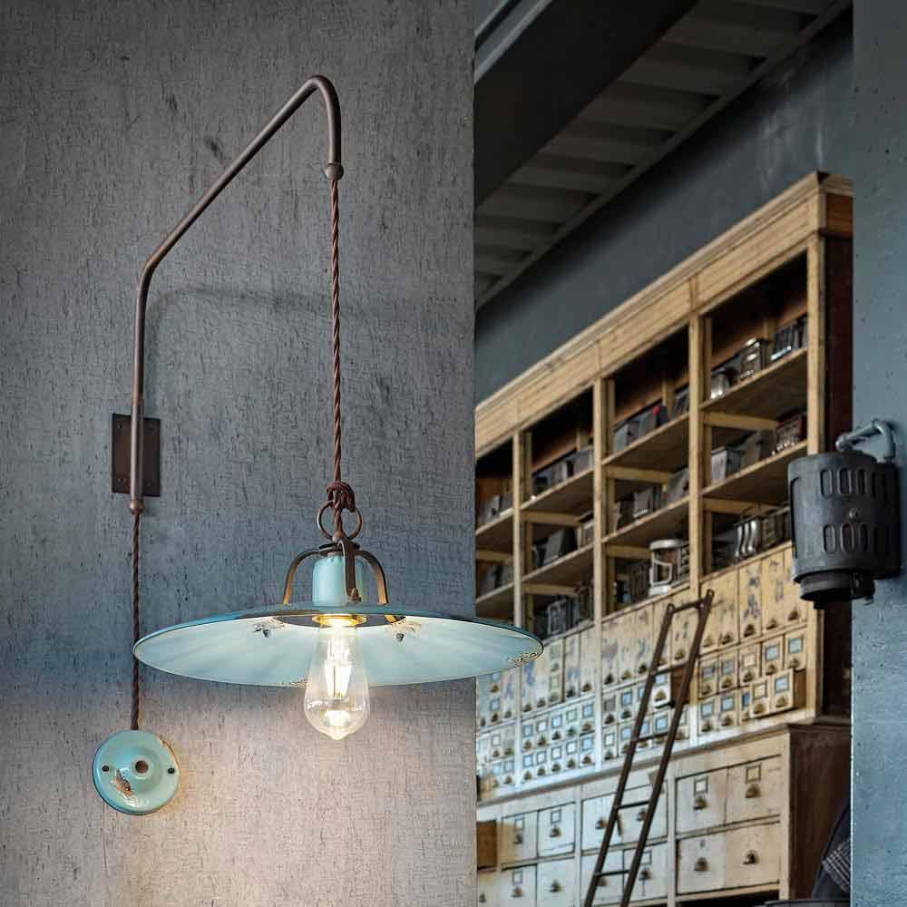 Lampada a sospensione con braccio direzionabile stile - Lampade da muro design ...