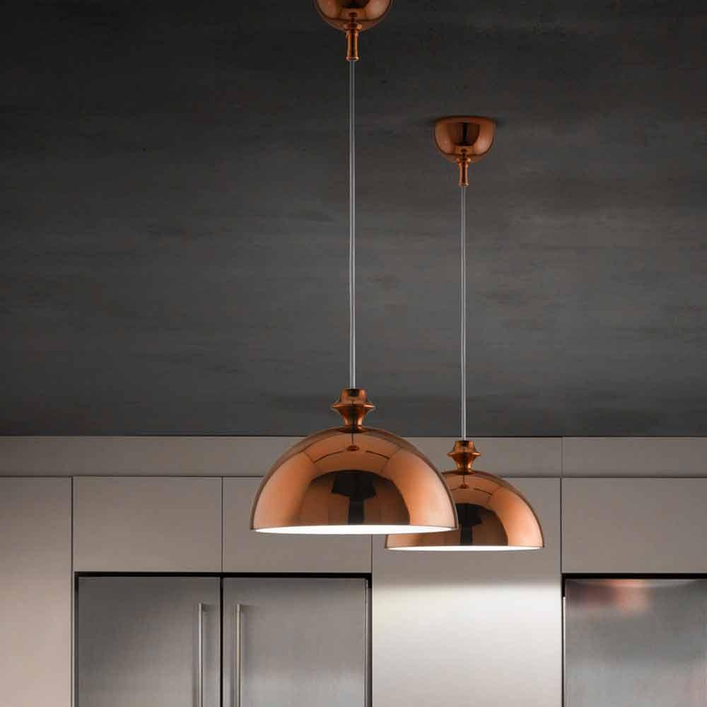 Lampada a sospensione design in ceramica gli illustri 8 for Lampade designer