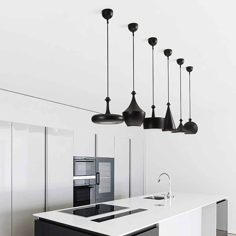 Lampada a sospensione di design in ceramica gli illustri 6 - Lampada sospensione design ...