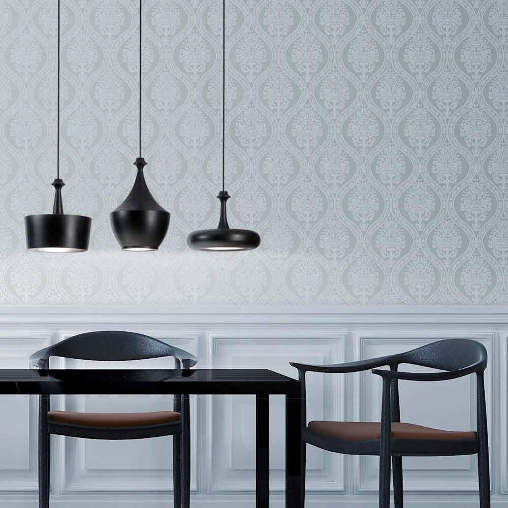 Lampada a sospensione di design in ceramica gli illustri 6 - Lampada di design ...