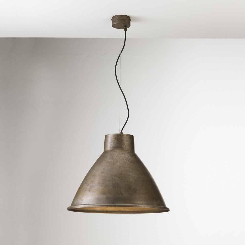 Lampada a sospensione industriale vintage loft grande il fanale - Grande suspension luminaire ...
