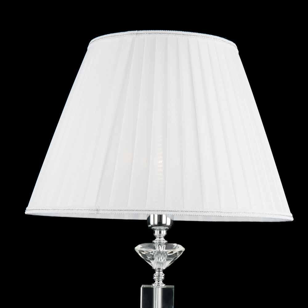 Lampada da tavolo di design in vetro e cristallo ivy made - Lampada di design ...
