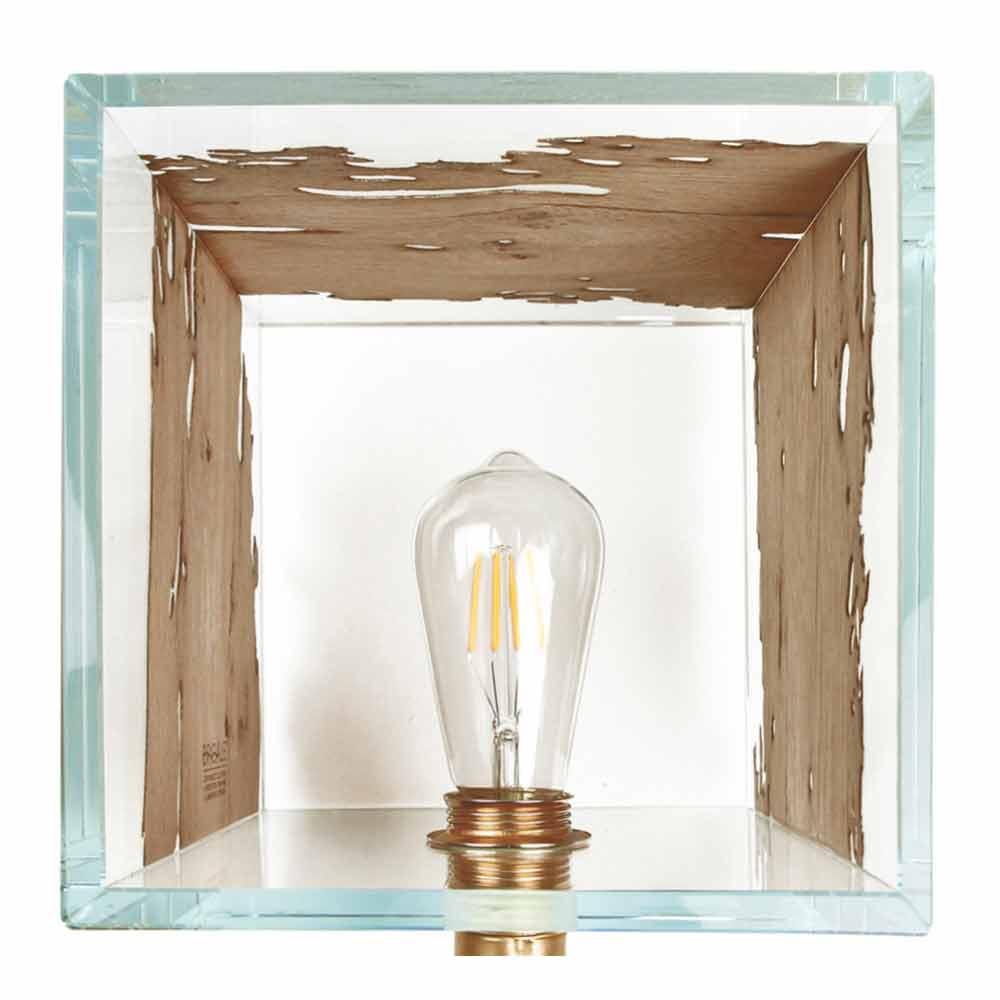 fabulous lampade da tavolo in legno with lampade da tavolo in legno
