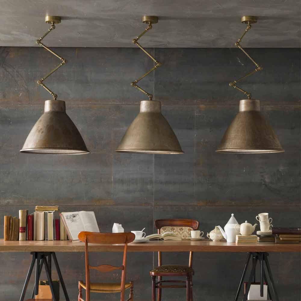 Lampadari stile industriale da parete for Lampade designer