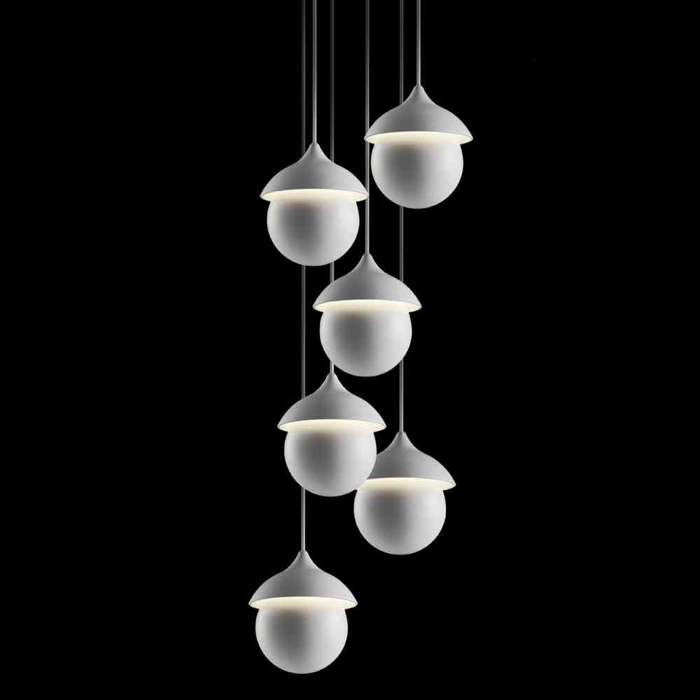Lampada moderna a sospensione in ceramica gli illustri 9 for Lampada per scrivania moderna