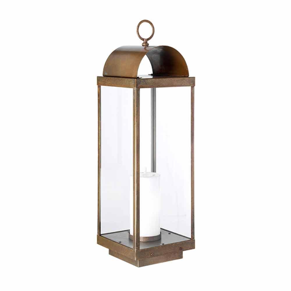 Lanterna da giardino da terra con candela il fanale - Candele per esterno ...