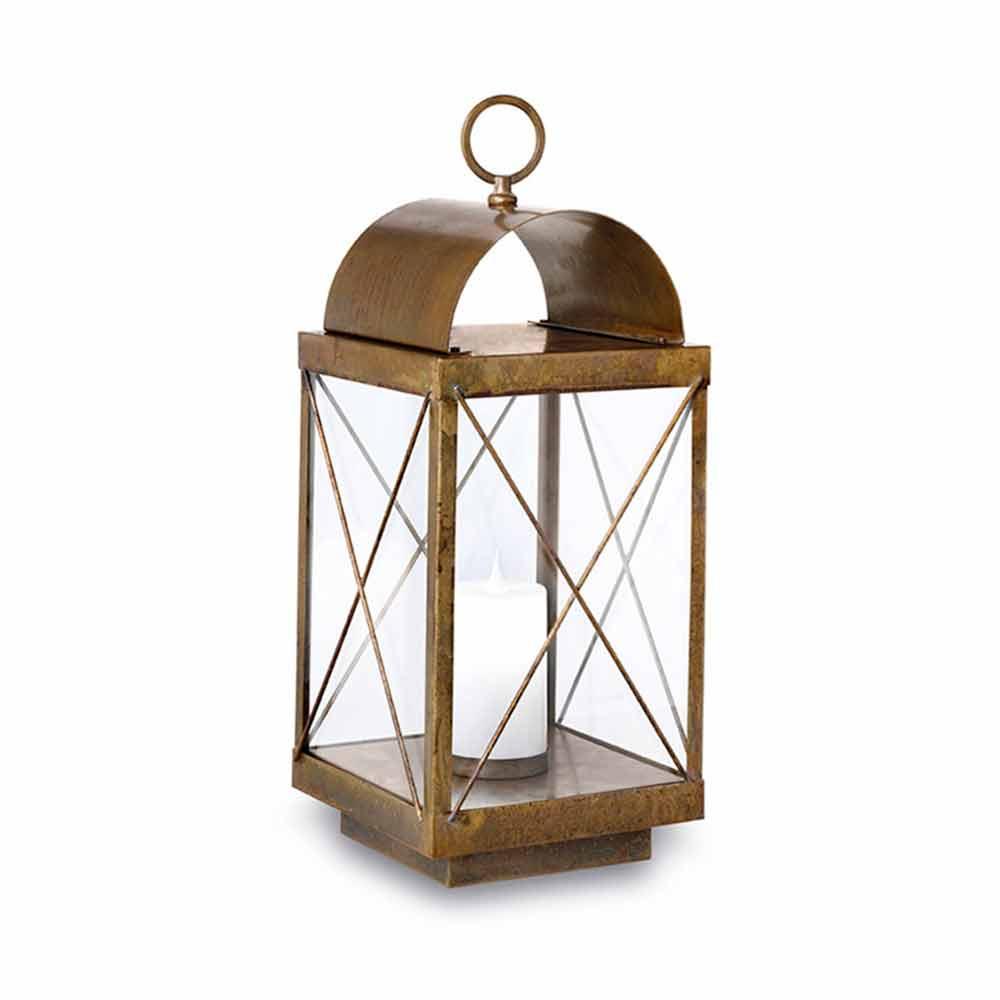 Lanterna grande da terra da esterno con candela il fanale - Lanterne da interno ...